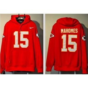 Mahomes Kansas City Chiefs Jersey stitched hoodie